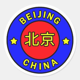 Sticker Rond Pékin Chine