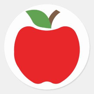 Sticker Rond Pommes