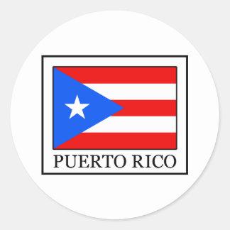 Sticker Rond Porto Rico