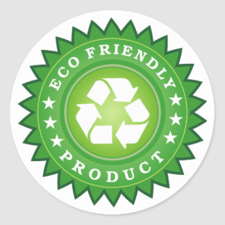 STICKER ROND PRODUIT AMICAL D'ECO