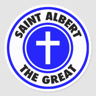 Sticker Rond Saint Albert le grand