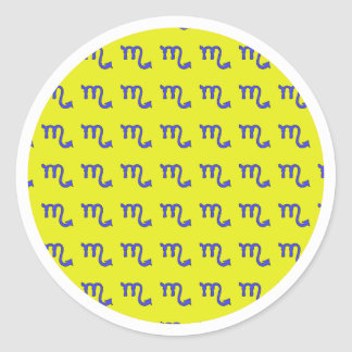 Sticker Rond ! Scorpion t