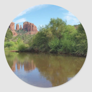 Sticker Rond Sedona