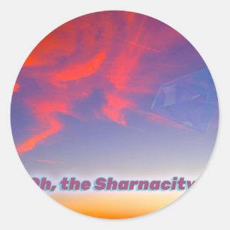 Sticker Rond Sharnacity