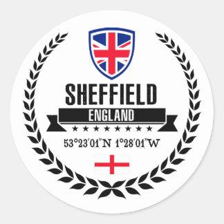 Sticker Rond Sheffield