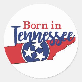Sticker Rond Soutenu au Tennessee