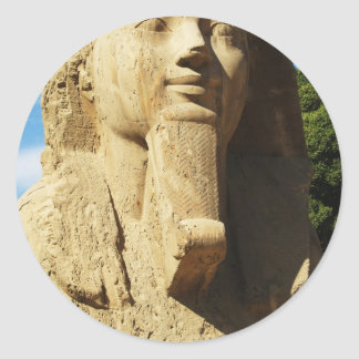 Sticker Rond Sphinx de Memphis Egypte