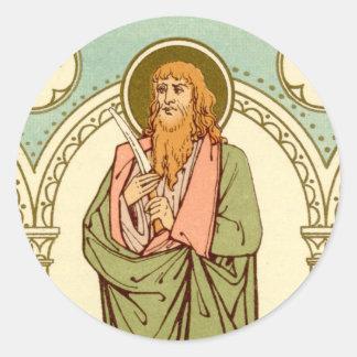 Sticker Rond St Bartholomew l'apôtre (RLS 03)
