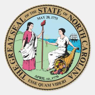 Sticker Rond Symbole de république de l'Amérique de joint