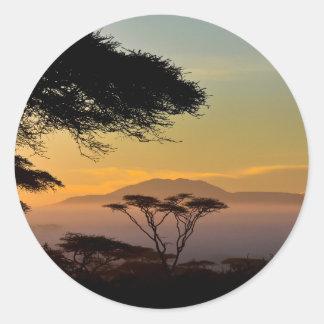 Sticker Rond Terres des Acacias