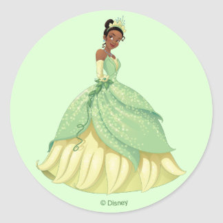 Sticker Rond Tiana | courageux