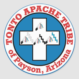 Sticker Rond Tonto Apache