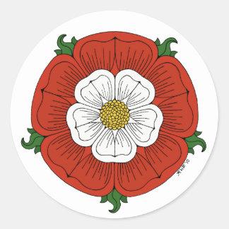 Sticker Rond Tudor s'est levé