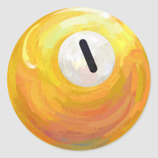 Sticker Rond Une boule
