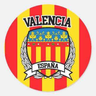 Sticker Rond Valence