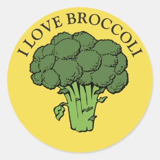 Sticker Rond Vous aimez le brocoli ?