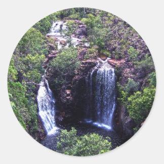 Sticker Rond Waterfall_Wonderland, _
