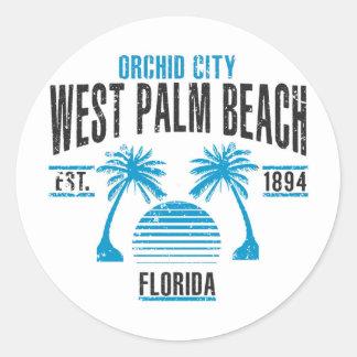 Sticker Rond West Palm Beach