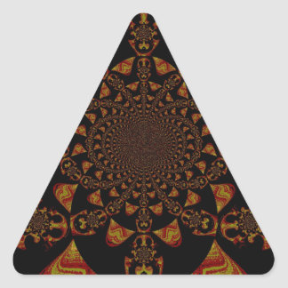 STICKER TRIANGULAIRE