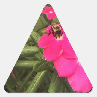 Sticker Triangulaire abeille