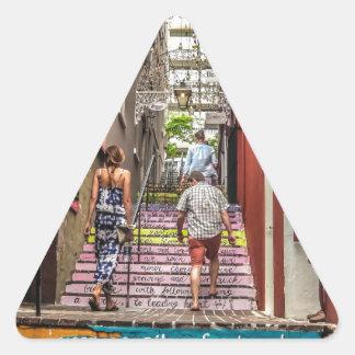 Sticker Triangulaire Allée de Hamilton