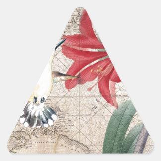 Sticker Triangulaire Amaryllis Mao Hummer