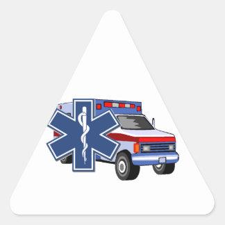 Sticker Triangulaire Ambulance de SME