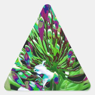 Sticker Triangulaire AMUSEMENT romantique sensuel de cadeaux de