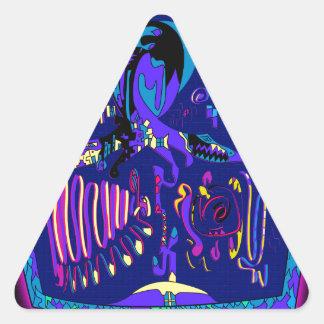 Sticker Triangulaire Andrei