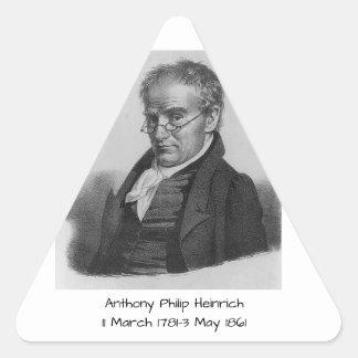 Sticker Triangulaire Anthony Philip Heinrich