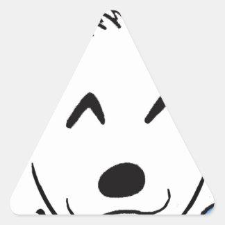 Sticker Triangulaire Baby dog