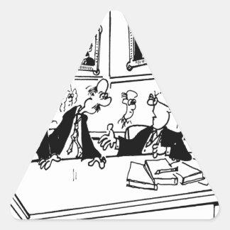 Sticker Triangulaire Bande dessinée 5488 de Lincoln