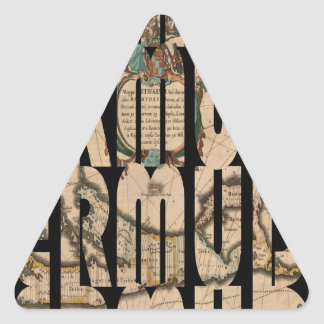 Sticker Triangulaire bermuda1662 1