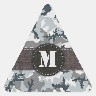 Sticker Triangulaire Camouflage urbain