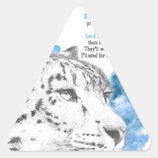 Sticker Triangulaire Démon de Stelmaria - d'Asriel de son matériel
