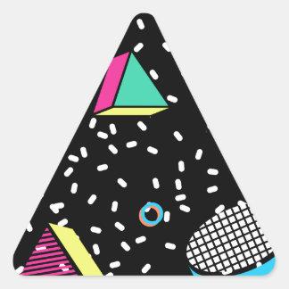 Sticker Triangulaire déplacez-vous à Memphis