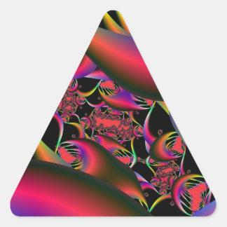 Sticker Triangulaire Entrée à l'autocollant de triangle de labyrinthe