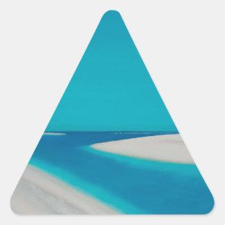 Sticker Triangulaire Hayle esturary.