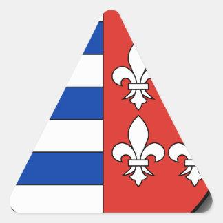Sticker Triangulaire La Hongrie #4