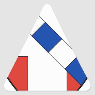Sticker Triangulaire La Savoie