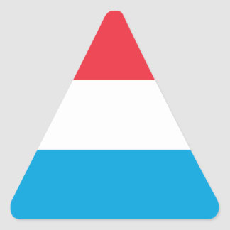 Sticker Triangulaire Le Luxembourg DIMINUENT