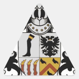 Sticker Triangulaire Loge de Royston