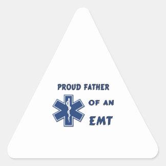 Sticker Triangulaire Papa d'EMT