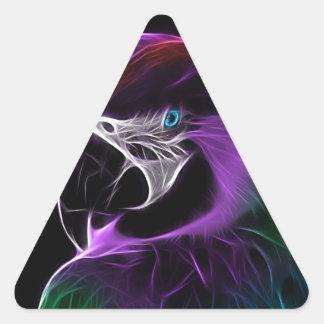 Sticker Triangulaire perroquet #2