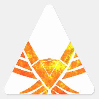 Sticker Triangulaire Phoenix