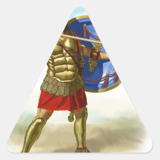 Sticker Triangulaire Romains