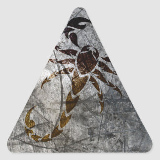 Sticker Triangulaire Scorpion