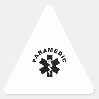 Sticker Triangulaire Thème d'infirmier