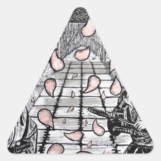 Sticker Triangulaire Une aspiration par Carter L. Shepard