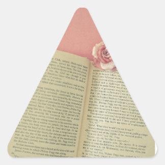 Sticker Triangulaire Une histoire